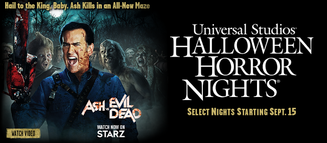 Ash vs Evil Dead Halloween Horror Nights maze